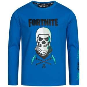 FORTNITE Skull Trooper Niño Camiseta de manga larga