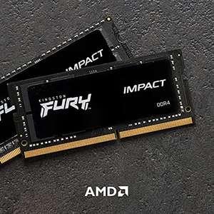 Memoria para Portátil Kingston FURY Impact 16GB (2x8GB) 2933MHz DDR4 CL17