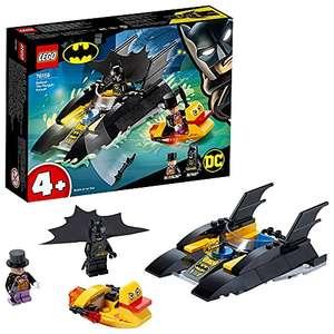 LEGO 76158 Super Heroes ¡Caza del Pingüino en la Batlancha!