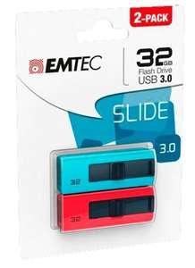 Pack 2 Memoria Usb Emtec 3.0 B250 32GB
