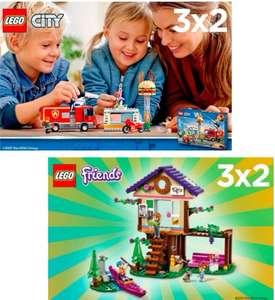 3X2 EN LEGO CITY & LEGO FRIENDS