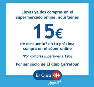 CARROUR 15€ DE DESCUENTO EN EL SUPER ONLINE