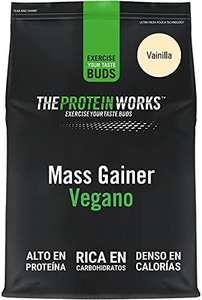 Ganador de peso THE PROTEIN WORKS Vegan Mass Gainer 2Kg