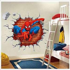 Vinilo Adhesivo 3D Spiderman