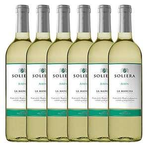 6 Botellas Soliera Vino Blanco, 0.75 Cl