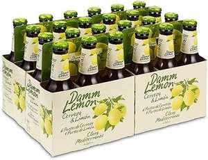 Damm Lemon Cerveza Clara Mediterránea - Pack de 24 x 250 ml, Total: 6000 ml