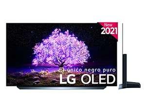 "LG OLED55C1-ALEXA 2021-Smart TV 4K UHD 55"", IA, Procesador Inteligente α9 Gen4, Deep Learning, 100% HDR, Dolby ATMOS, HDMI 2.1"