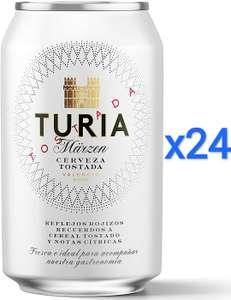 24 x 33cl Cerveza Tostada Turia Märzen