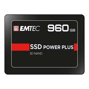 Disco duro interno SSD Emtec X150 SATA III 960 GB // 480 GB por 39,99 € // 240 GB por 23,99 €