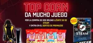 ¡¡STEAM 5€ GRATIS CON TOP CORN!!