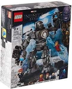 LEGO 76190 Marvel Iron Man: Caos de Iron Monger, Juguete de Construcción con Figuras de Acción de Superhéroes