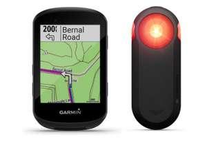 Lote ciclocomputador ciclismo Garmin Pack Edge 530 GPS + luz radar Varia RTL 515