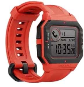 Reloj deportivo - Amazfit NEO, 1.2'', Pulsómetro, Sumergible, Seguimiento actividad [Tb en Negro y Verde]