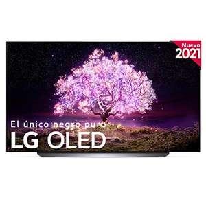 "LG OLED65C1-ALEXA 2021-Smart TV 4K UHD (65"") con IA, Procesador Inteligente α9 Gen4, Deep Learning, 100% HDR, Dolby ATMOS, HDMI 2.1,"