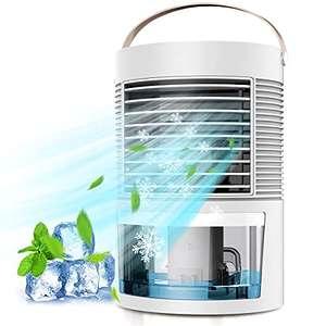 Mini Enfriador de Aire, Acondicionador de Aire Móvil, Climatizadores Evaporativos