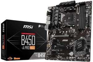 MSI B450-A Pro Max (También en Amazon)