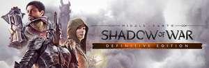 La tierra media sombras de guerra Definitive Edition