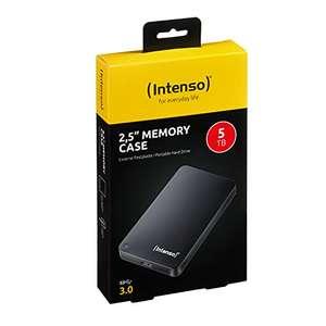 Intenso Memory Case - Disco Duro Externo de 5 TB, Color Negro