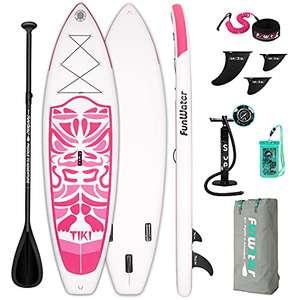 Tabla Paddle Surf Rosa 335x84x15 cm hasta 150Kg.