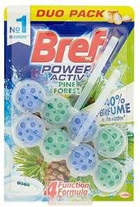 10 pack BREF Colgador WC Power Active Natura Blister 2 uds
