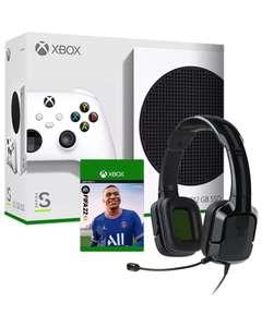 Xbox Series S + FIFA 22 + Auriculares Tritton Kunai