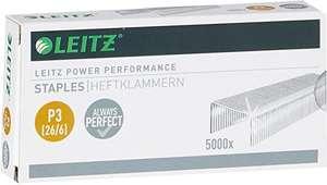 Leitz 55721000 - Caja de 5000 grapas (P3, 26/6)