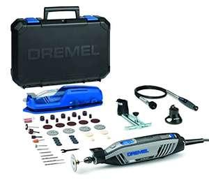 Dremel 4300 - Multiherramienta con kit con 3 complementos, 45 Accesorios