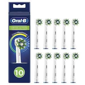 Cabezales Oral-b CrossAction 10 Unidades