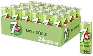 7Up Refresco De Lima Limón - Pack de 24 x 330g (compra recurrente)