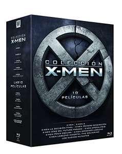 X-MEN BLU RAY COLECCION 10 PELICULAS