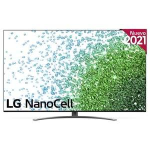TV LED 138,8 cm (55'') LG 55NANO816PA Smart TV, 4K NanoCell Perimetral QuadCore, Inteligencia artificial por solo 749€