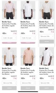 Camisas Emidio Tucci por 7€