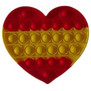 Popit de moda. Ideal para regalar !! Con los colores de la bandera de España