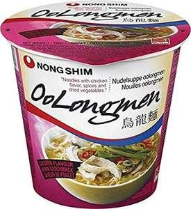 Nongshim Oolongmen Fideos Sopa pollo 12x75gr