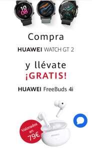 Huawei Watch GT 2 NEGRO + REGALO Huawei Freebuds 4i