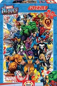 Puzzle Héroes de Marvel, 500 Piezas.