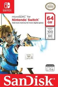 SanDisk MicroSDXC Zelda 64GB (Switch)