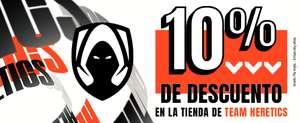 Outlet de ropa y accesorios de Team Heretics + 10% EXTRA + Envío gratis a partir de 30€