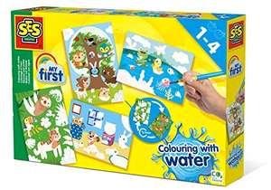 Colorear con Agua - Animales escondidos