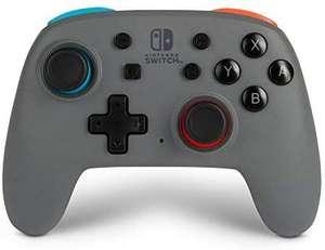 Mando Inalámbrico Mejorado Nano PowerA para Nintendo Switch. Gris Neón
