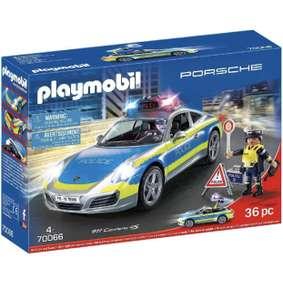 Porsche 911 carrera 4s policia playmobil
