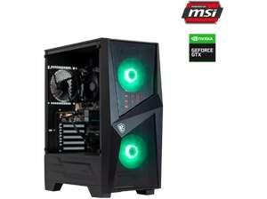 PC gaming - PC Clon Powered by MSI B450, AMD Ryzen™ 5 3600, 16 GB RAM, 480 GB SSD, GTX 1660 SUPER,