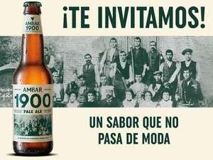 Compra 6 botellas de cerveza Ambar 1900 Pale Ale y te devuelven el importe de 3