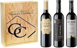 Pata Negra - Rioja Reserva, Ribera del Duero Reserva y Jumilla Apasionado Ecológico - Estuche de 3 Botellas x 750 ml