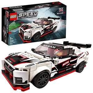 LEGO 76896 Speed Champions Nissan GT-R NISMO Juguete de Construcción de Icónico Coche de Carreras con Mini Figura