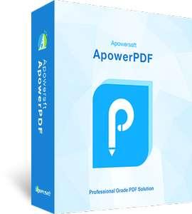Gratis por tiempo limitado ApowerPDF es un editor de PDF [1 año de licencia]