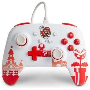 Mando PowerA Mario Oficial (Switch)
