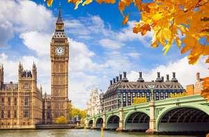 Vuelos ida y vuelta a Londres desde 16€ para Noviembre