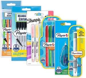 Paper Mate & Sharpie Juego de bolígrafos   Suministros de papelería   Bolígrafos, resaltadores, lápices mecánicos y cinta de corrección
