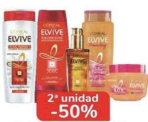 2ª al -50% Productos ELVIVE.